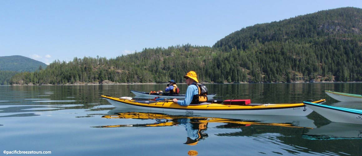 Victoria Gulf Islands kayak adventures